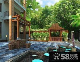 2014别墅庭院设计平面图