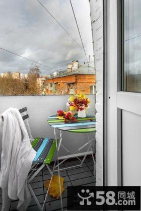 家装小阳台设计图片