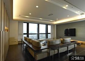 现代风格120平米三室两厅装修效果图