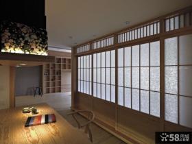 2015日式风格餐厅装修效果图
