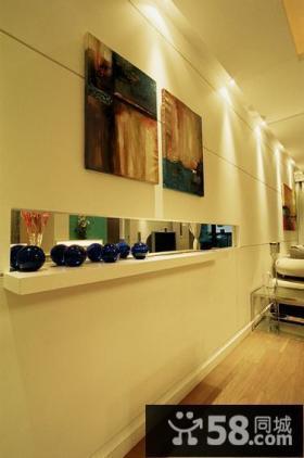 现代简约风格室内装饰画装修效果图