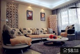 小户型客厅沙发茶几装修效果图欣赏