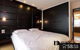 现代风格三室两厅装修效果图卧室