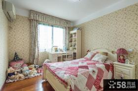 美式田园风卧室装修效果图