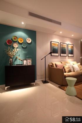 现代风格家装沙发背景墙效果图片欣赏