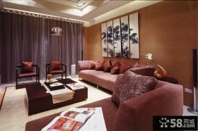 现代简约家居室内三居室效果图