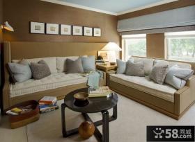 65㎡小户型温馨的卧室装修效果图大全2014图片
