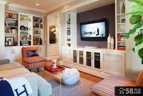 客厅电视背景墙设计效果图片