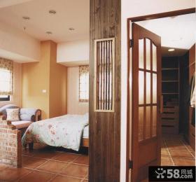 田园美式卧室装潢设计