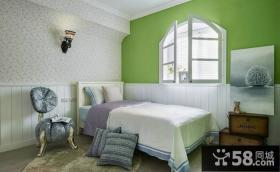现代田园时尚设计卧室