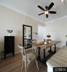 美式两室两厅公寓室内装修效果图欣赏
