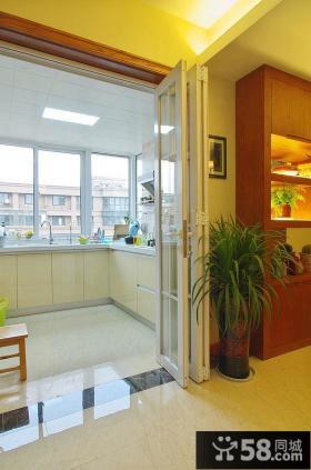 现代简约复式家居装潢案例