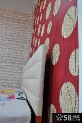 时尚家装卧室墙纸图片大全