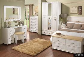卧室简欧式白色家具图片