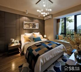 温馨简约风格两居室家装效果图