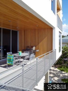 创意现代阳台整体空间展示