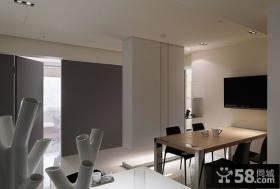 简约公寓室内办公室装饰效果图
