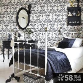 小户型卧室壁纸装修效果图欣赏