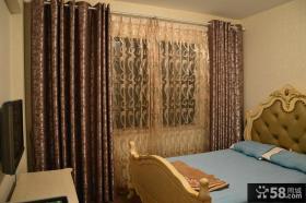 欧式设计时尚卧室窗帘图
