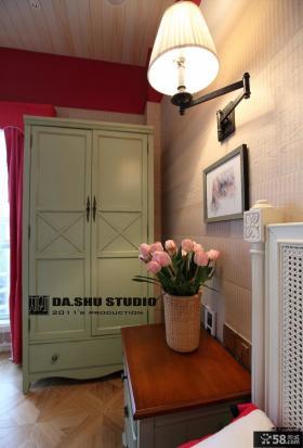 混搭风格复式楼客厅装修效果图