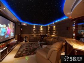 时尚美式风格客厅电视背景墙装修图片