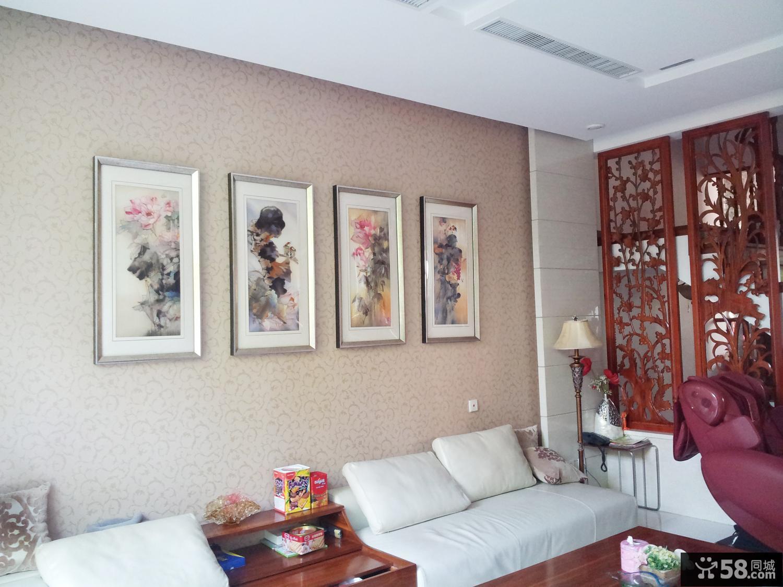 【家居客厅装饰画】 - 58同城装修效果图大全