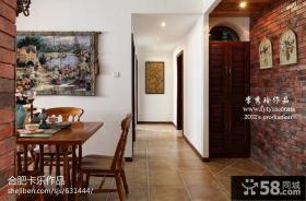 田园风格餐厅室内装饰壁画图片