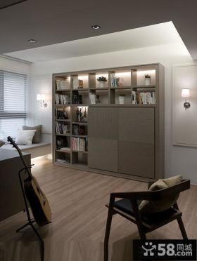 现代简约房间储物柜图片