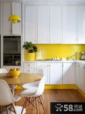 开放式厨房餐厅设计图片