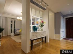 家居客厅与玄关隔断设计