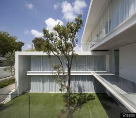 别墅庭院设计图片大全2014