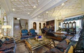 欧式风格豪华住宅别墅室内装修效果图