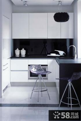 极简主义小厨房设计