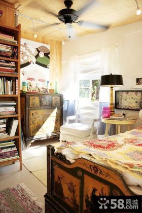 11万打造80平欧美田园风格卧室装修效果图