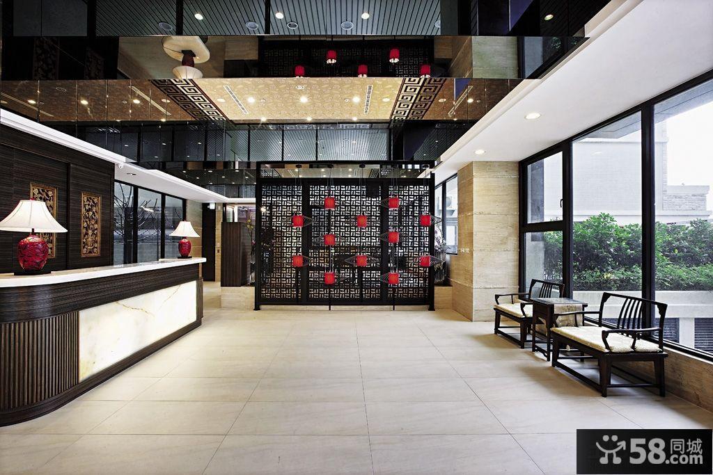 中式大厅装修效果图