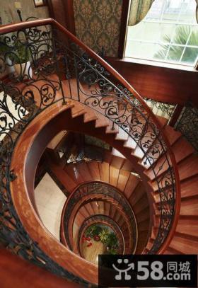 欧式古典奢华别墅室内装饰效果图