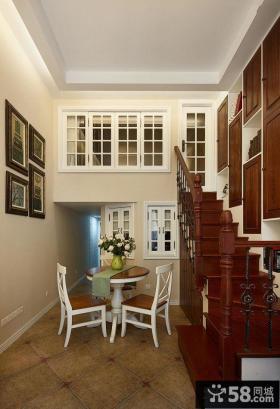 新中式风格小复式家居装修效果图大全2014