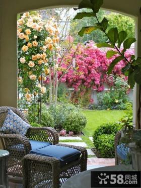 小户型阳台花园装修效果图片