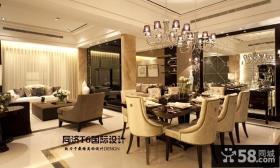 欧式现代风格两室一厅装修图