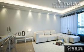 简约50平米小户型客厅装修图欣赏