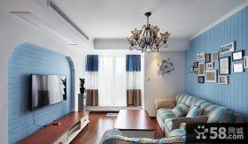 美式简约两室一厅装饰设计效果图