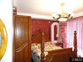 美式乡村风格卧室装修效果图大全