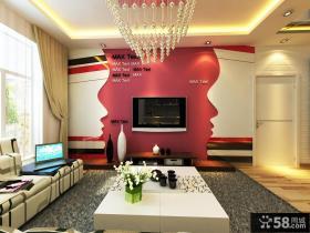 客厅吊顶装修效果图大全2012图片