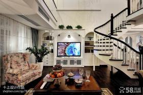 欧式小别墅客厅装修效果图大全