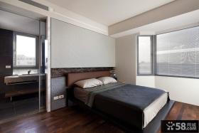 89平米小户型简约卧室装修效果图大全2014图片