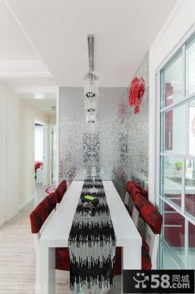现代餐厅水晶吊顶灯设计