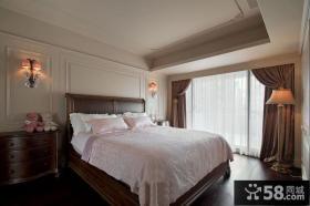 简单的美式风格卧室壁灯设计