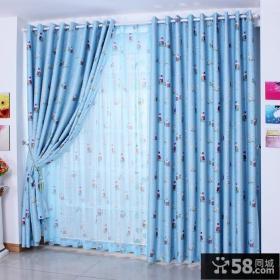 窗帘装修图片 儿童房遮光窗帘