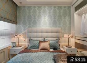 欧式风格精装卧室图2014