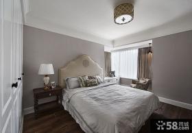 美式装修设计温馨卧室大全2015